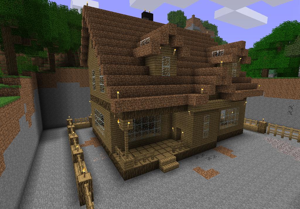 схемы красивых домов в